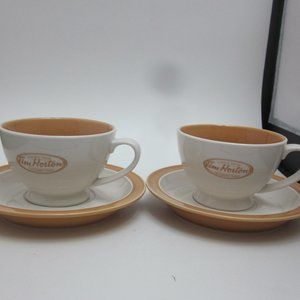 Tim Hortons cups and saucers